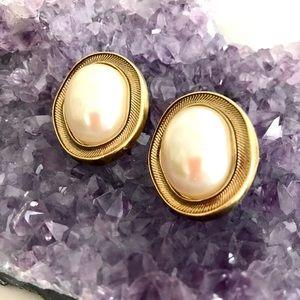 Vintage Nina Ricci for Avon Signed Earrings